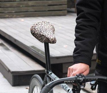 Vurtne Fixed Gear Bike Seat Cover (Leopard /Standard)