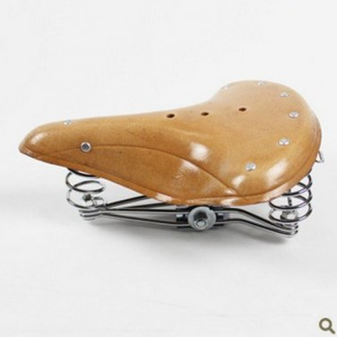 Vintage Fixie Fixed Gear Bicycle Bike Seat with Spring