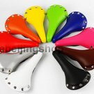 Vintage Fixie Fixed Gear bike saddle Seat (Multi-color)