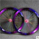 Fixie Fixed Gear bike Wheel Rim Stickers (Star for 1 wheel)