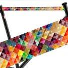 BMX / Fixie Bike Bicycle Frame Tube Sticker (Check Lattice)