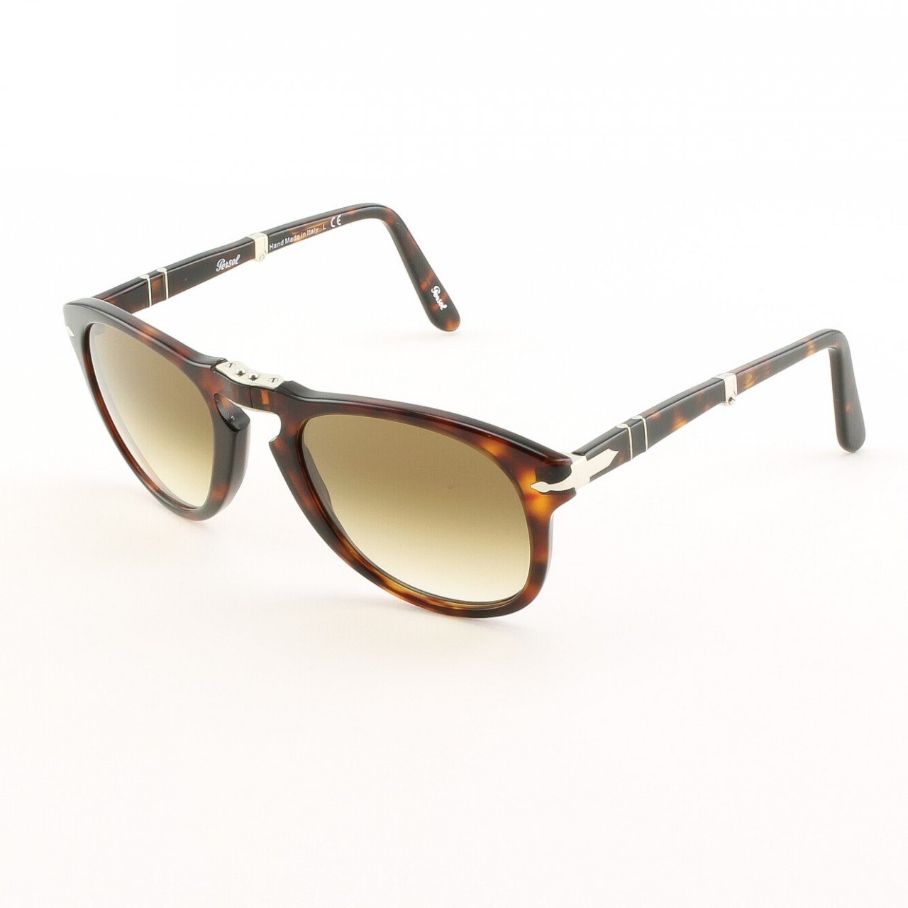 Persol PO0714 24/51 52 Sunglasses Havana with Brown Gradient Crystal Lenses 714