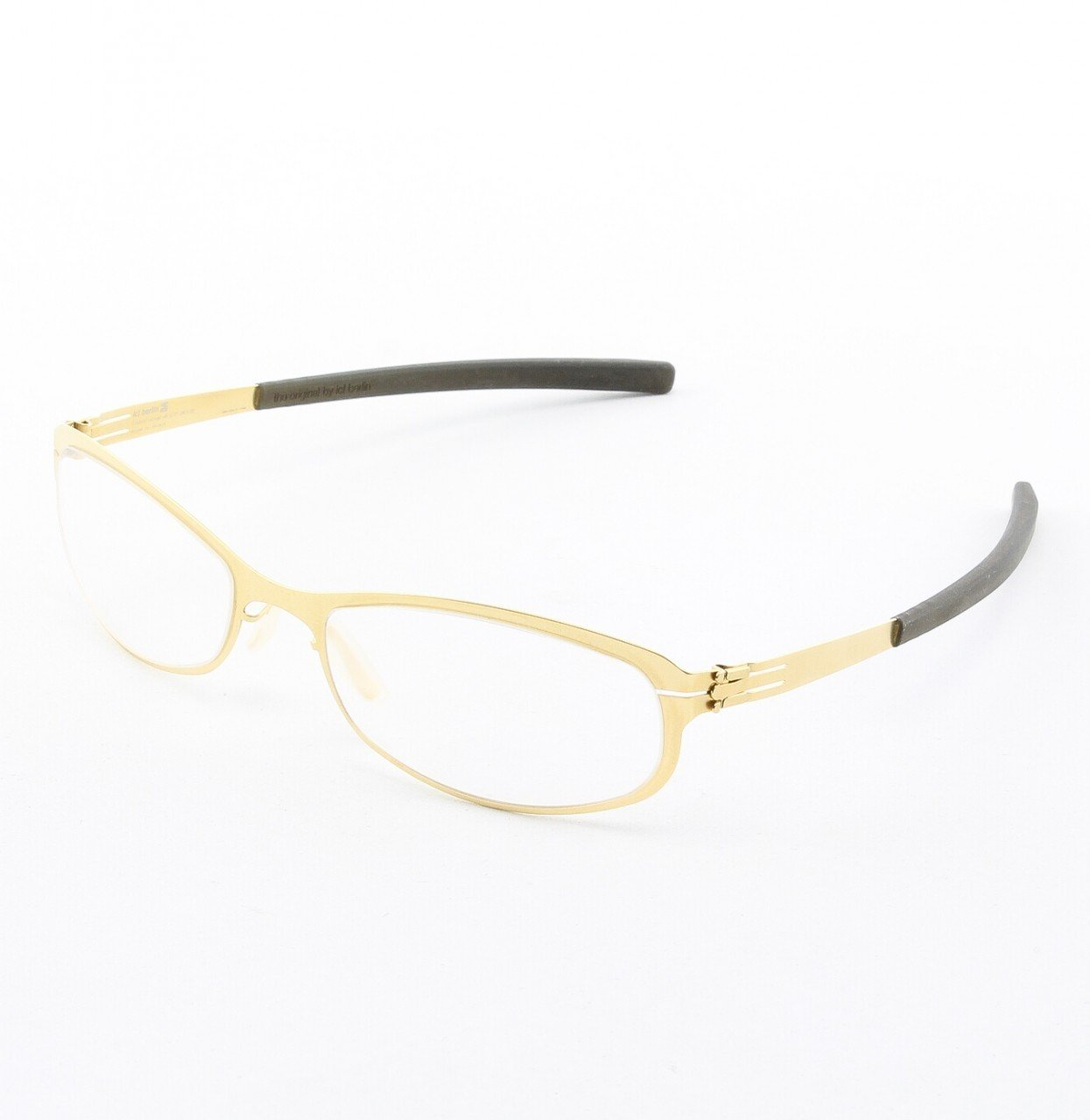 ic! Berlin Rosa Eyeglasses Col. Copper with Clear Lenses