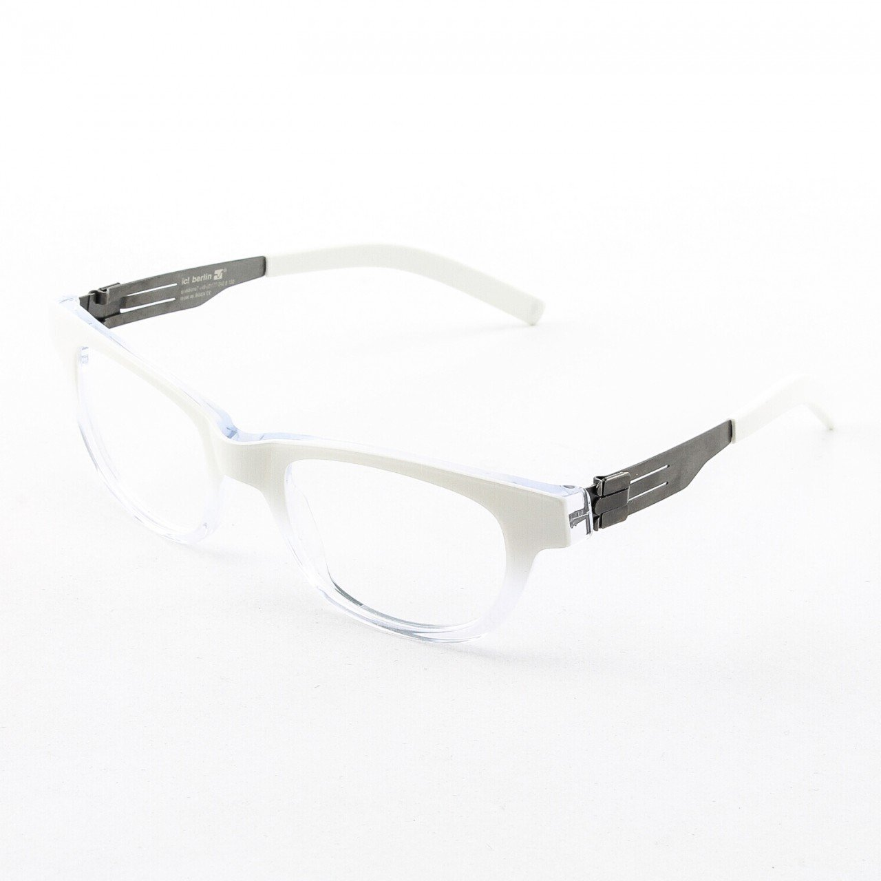 ic! Berlin Claudia S. Eyeglasses Col. Crystal with Clear Lenses