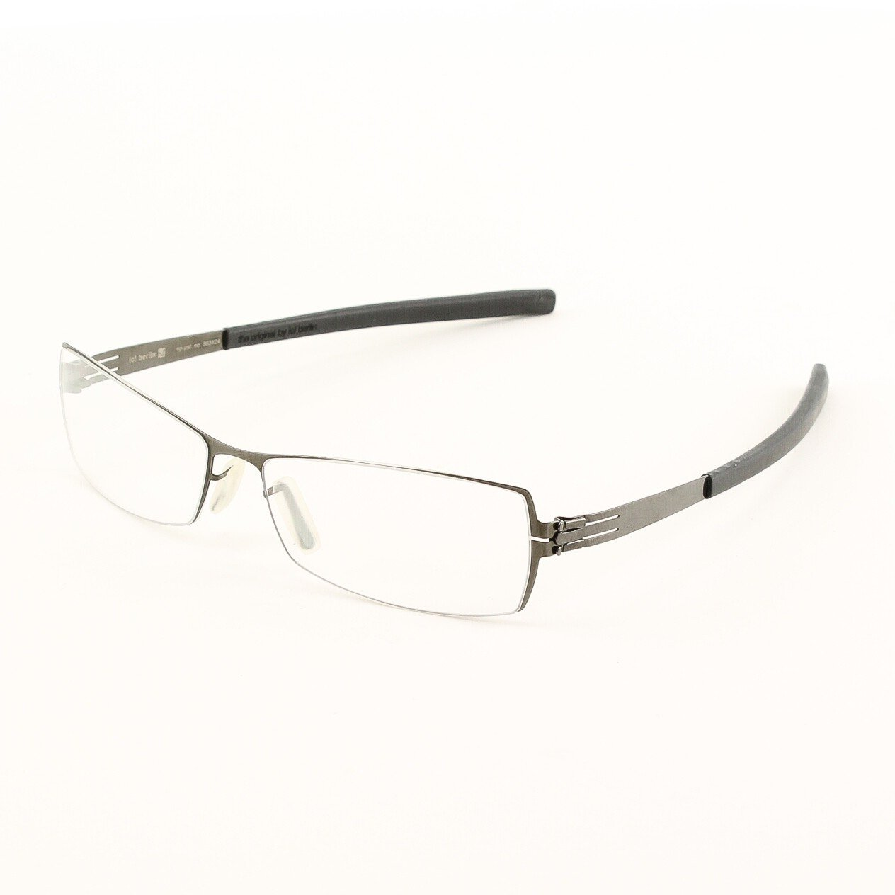 ic! Berlin Tina M. Eyeglasses Col. Black with Clear Lenses