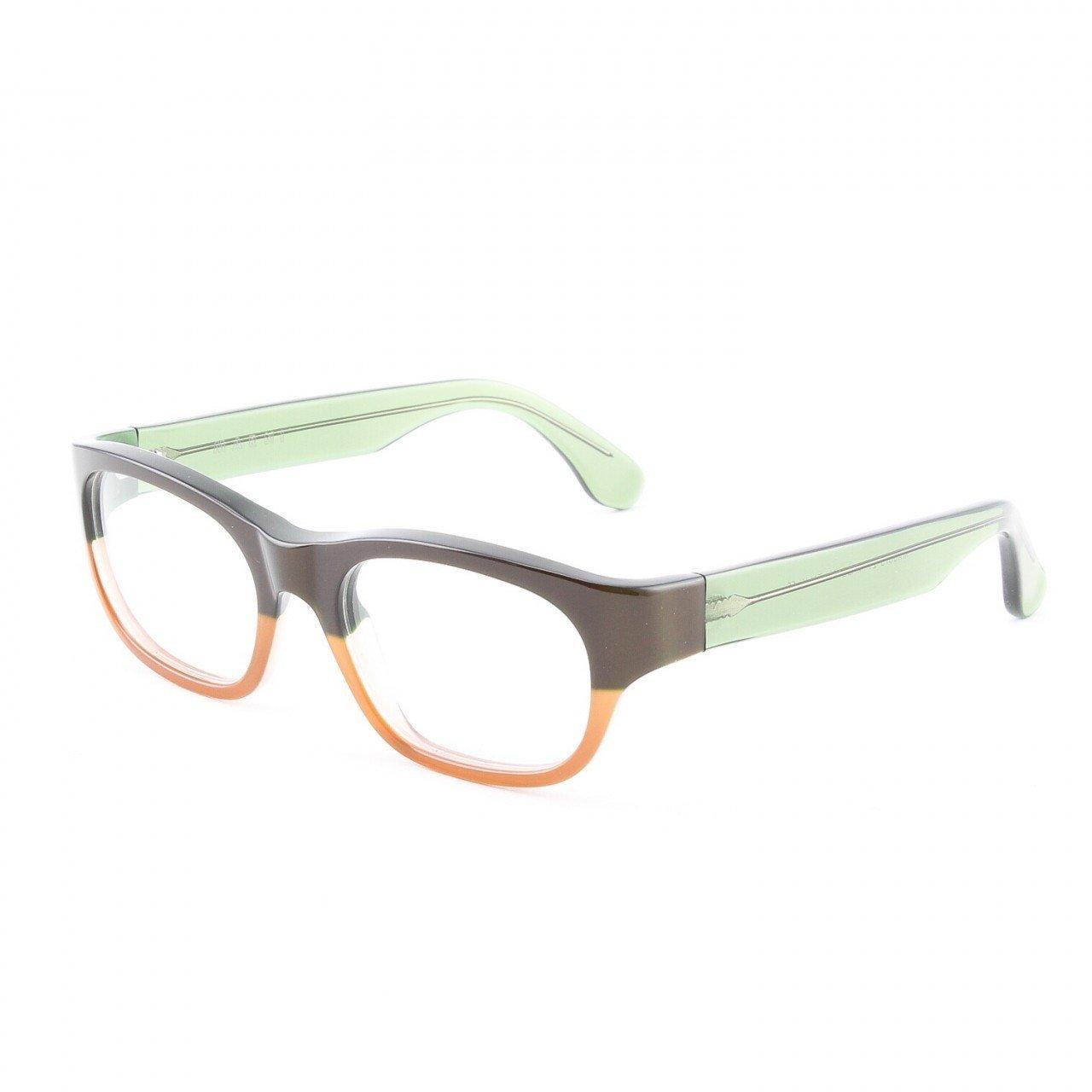 Marni MA601S Eyeglasses 27 Translucent Chocolate Brown with Demo Lenses