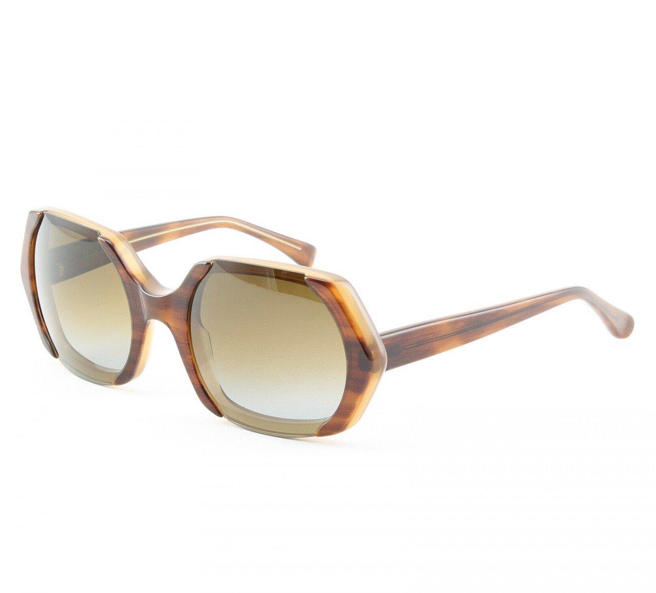 Marni MA223 Sunglasses Col. 05 Hi Tech Tortoise Frame with Brown Lenses