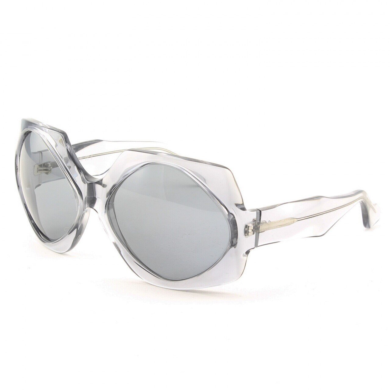 Marni MA187S Sunglasses Col. 06 Clear Light Gray with Gray Lenses