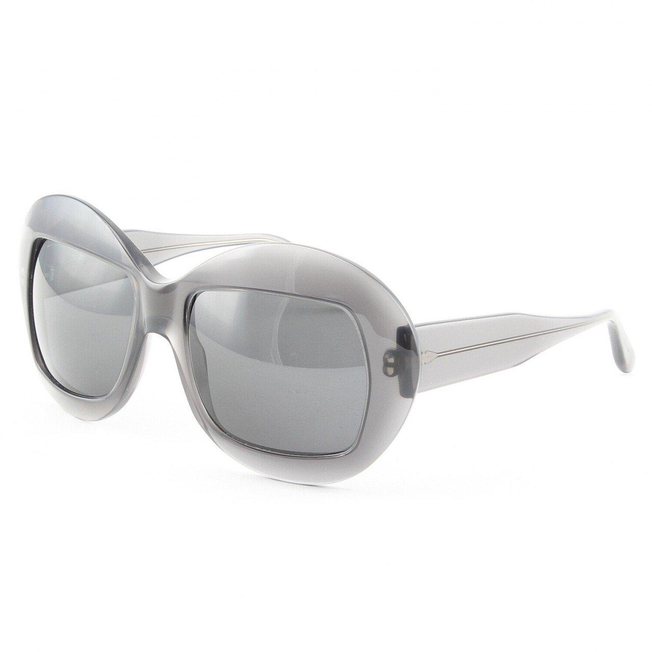 Marni MA186S Sunglasses Col. 02 Translucent Graphite Gray with Gray Lenses