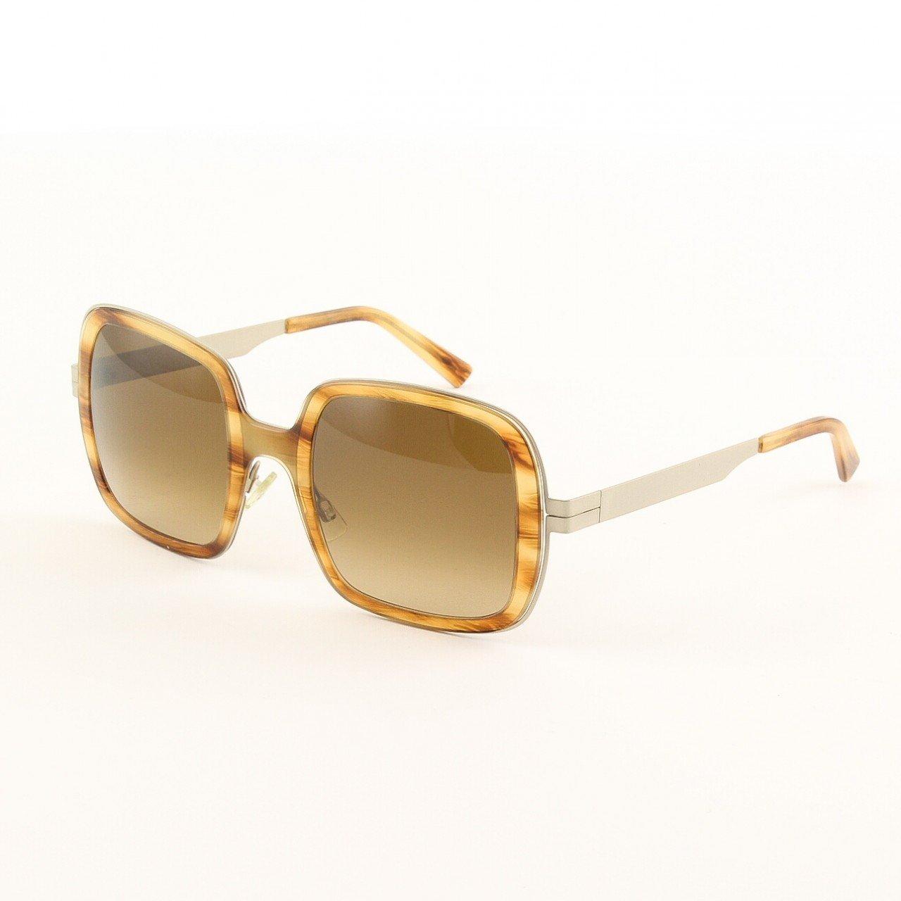 Marni MA159 Sunglasses 03 Light Tortoise Frame, Brown Gradient Lenses