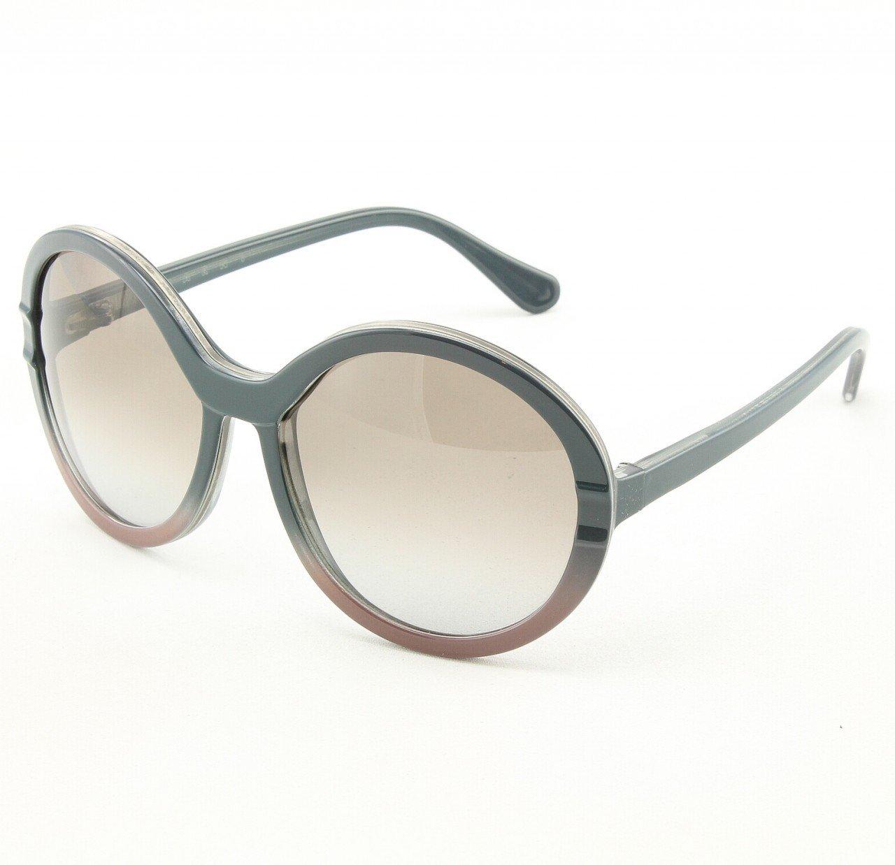 Marni MA145 Sunglasses Col. 04 Classic Gray Dusty Rose w/Decorative Accent with Gray Gradient Lenses