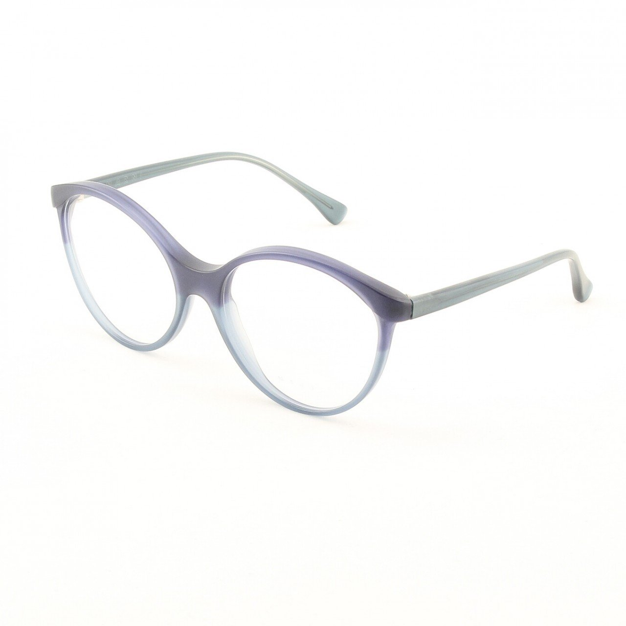 Marni MA701 Eyeglasses 02 Matte Purple and  Graphite Gray with Clear Lenses