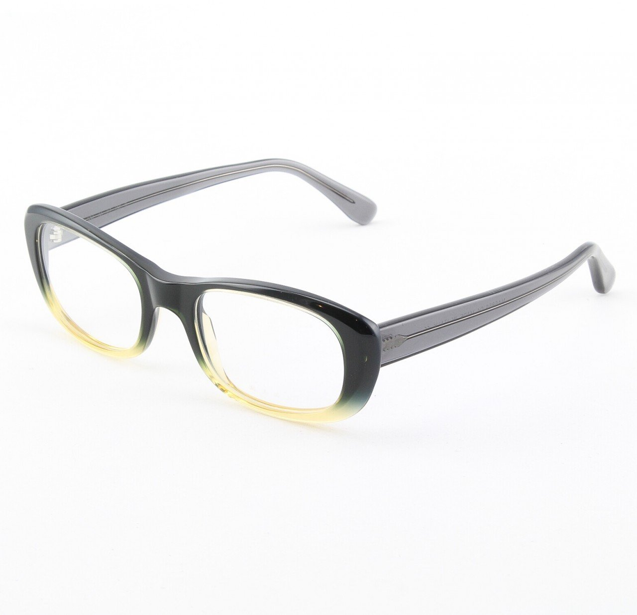 Marni MA685S Eyeglasses Col. 04 Midnight Navy Graduation to Light Yellow with Clear Lenses