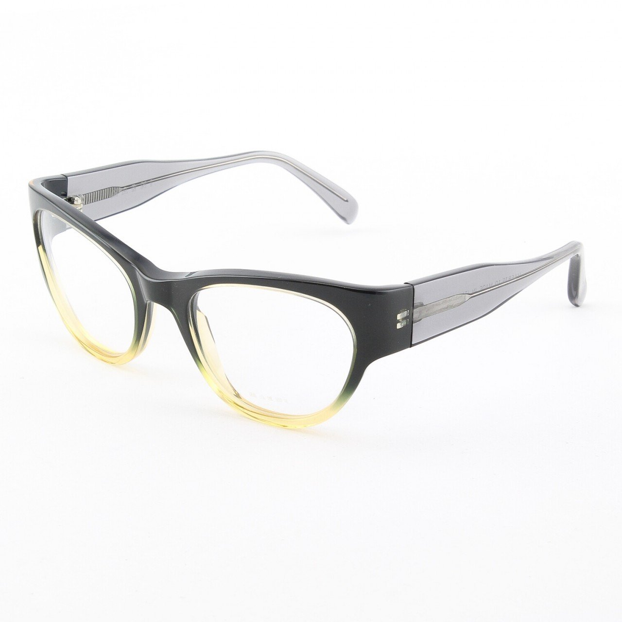 Marni MA683S Eyeglasses Col. 10 Midnight Navy Graduation to Light Yellow with Clear Lenses