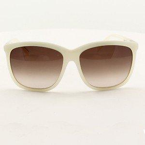 BLINDE Cake Walk  Sunglasses PEARL WHITE FRAMES GREY LENSES 63mm RARE EYEWEAR