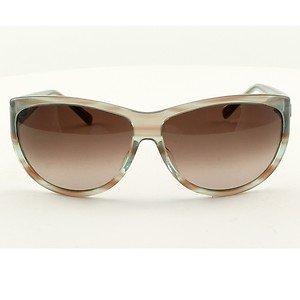 BLINDE LIPS LIKE SUGAR Sunglasses BLUE CRYSTAL Frame Pink Gradient Lens RARE