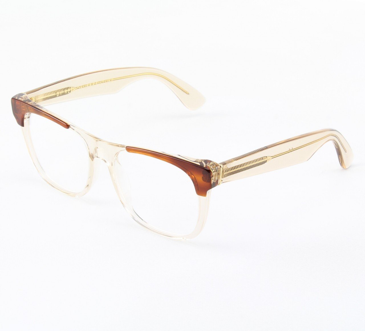 Super Classic 960/0T Eyeglasses Brown with Clear Zeiss Lenses by RETROSUPERFUTURE