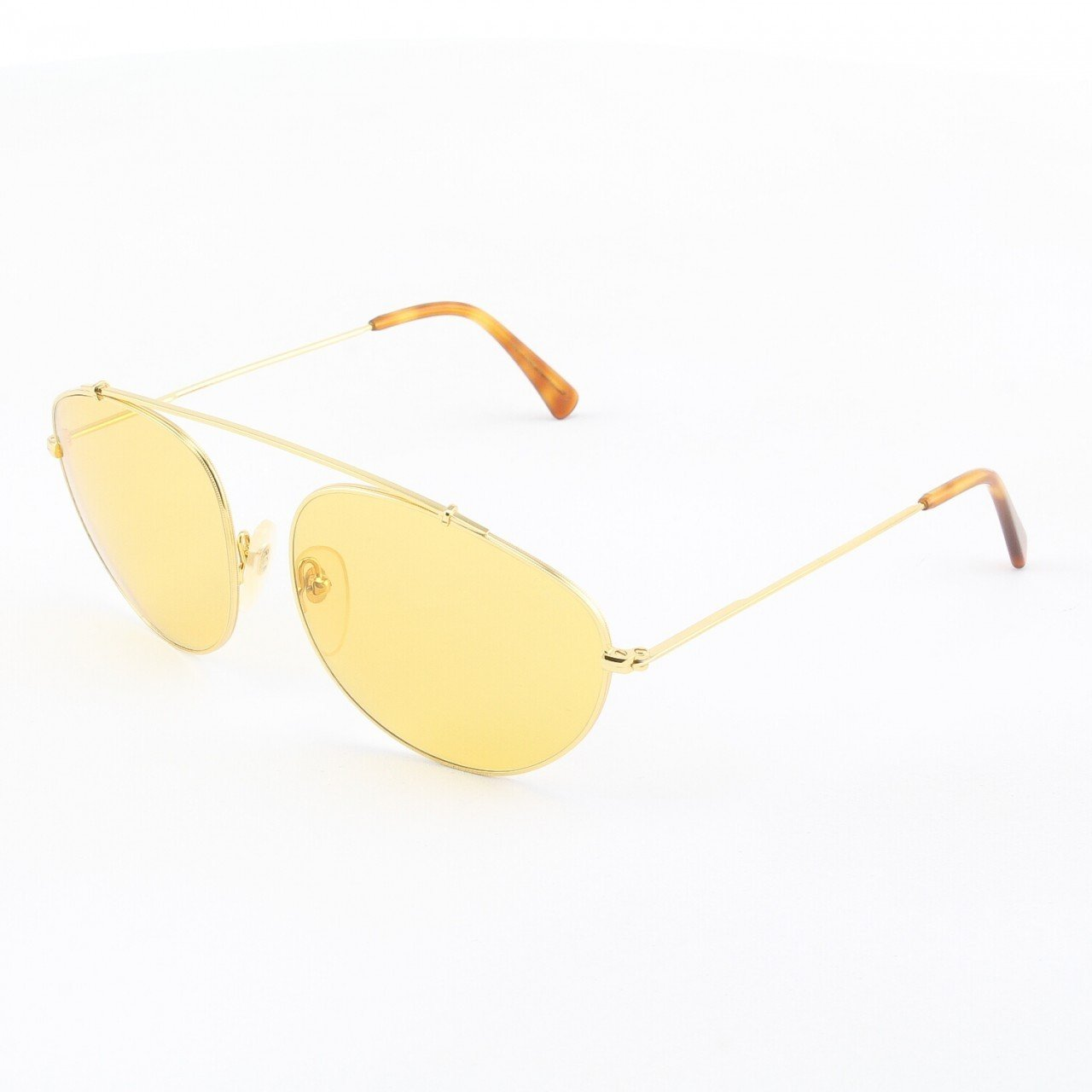 Super Leon 714 Sunglasses Havana with Yellow Zeiss Lenses by RETROSUPERFUTURE