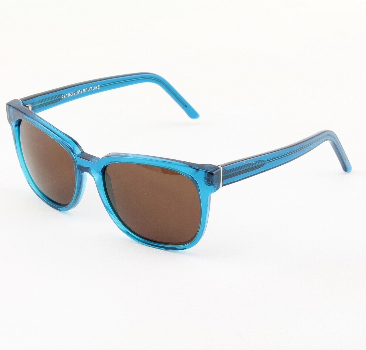 Super People 561/3A Sunglasses Blue with Black Zeiss Lenses by RETROSUPERFUTURE