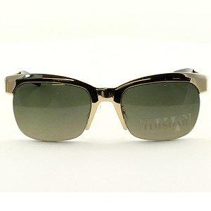 Linda Farrow Projects TS1/C2 Sunglasses by TIM SOAR Gold w/ Grey Lenses RARE NWT