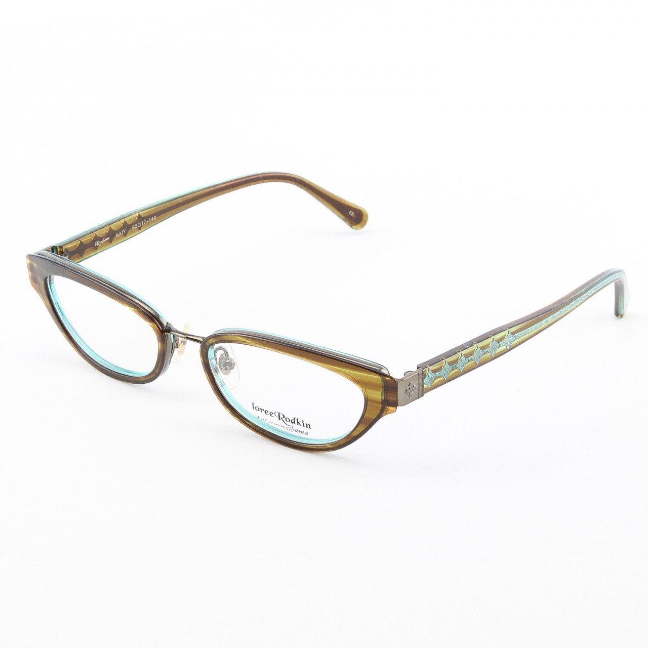 Eyeglass Frames Katy Texas : Loree Rodkin Katy Eyeglasses Olive w/ Clear Lenses ...