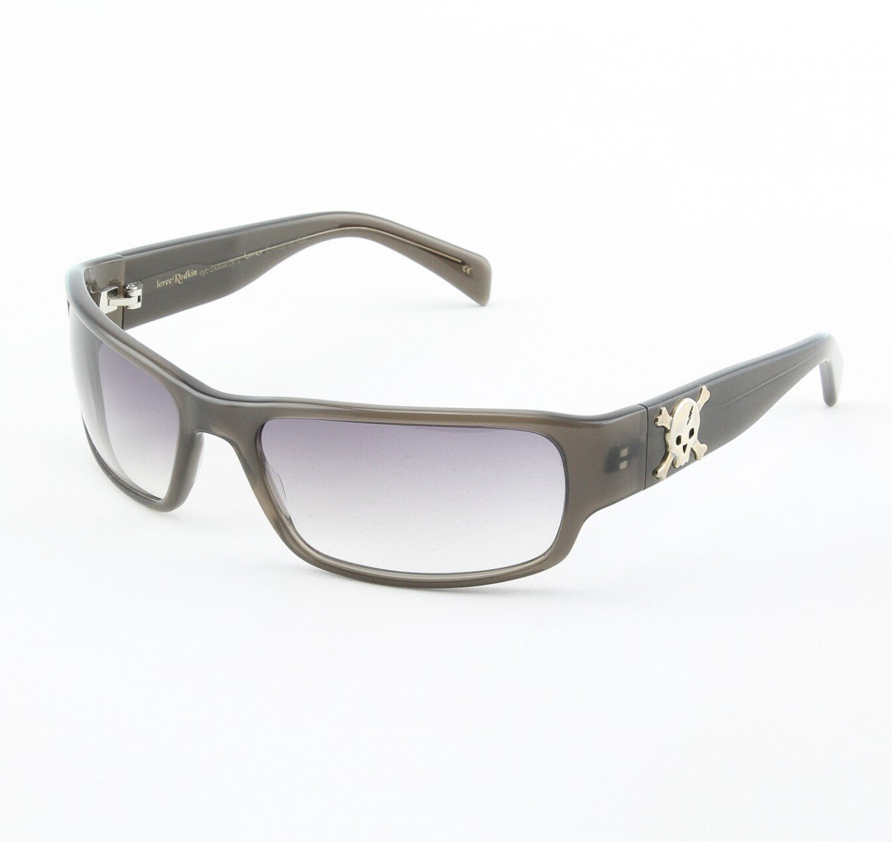 Loree Rodkin Tommy-M Sunglasses by Sama Col. Slate with Gray Gradient Lenses and Sterling Silver