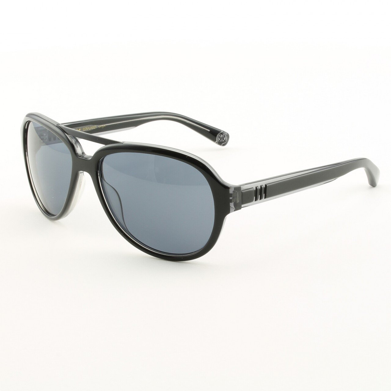 Loree Rodkin Edward Sunglasses by Sama Col. Onyx with Gray Lenses