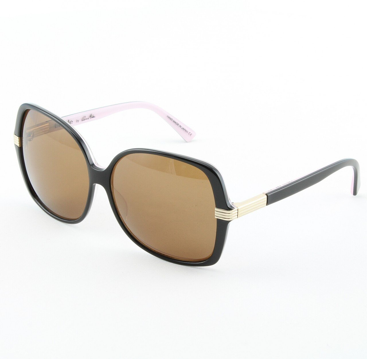 Blinde Swing Set Women's Sunglasses Col. Almost Oreo Black with Brown Lenses