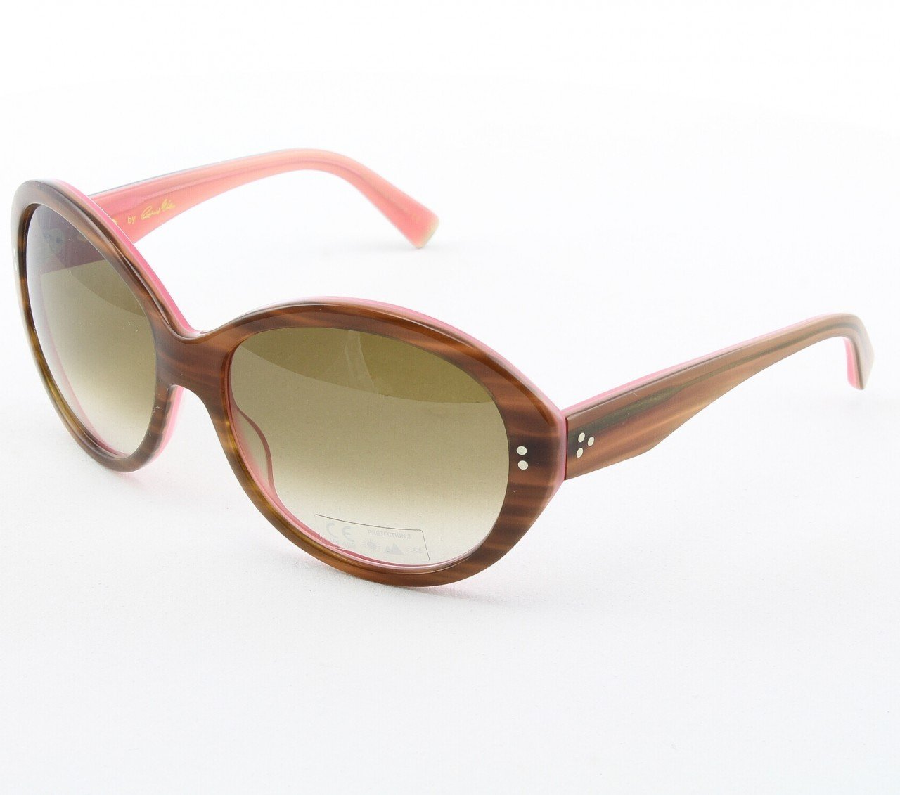 Blinde Lets Go All The Way Women's Sunglasses Col. Tortoise Flamingo with Brown Gradient Lenses