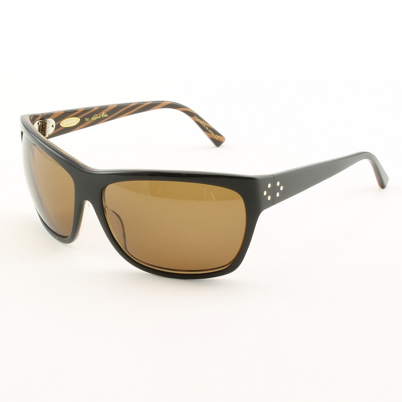 Blinde I Want Candy Women's Sunglasses Col. Brown Zebra with Brown Lenses