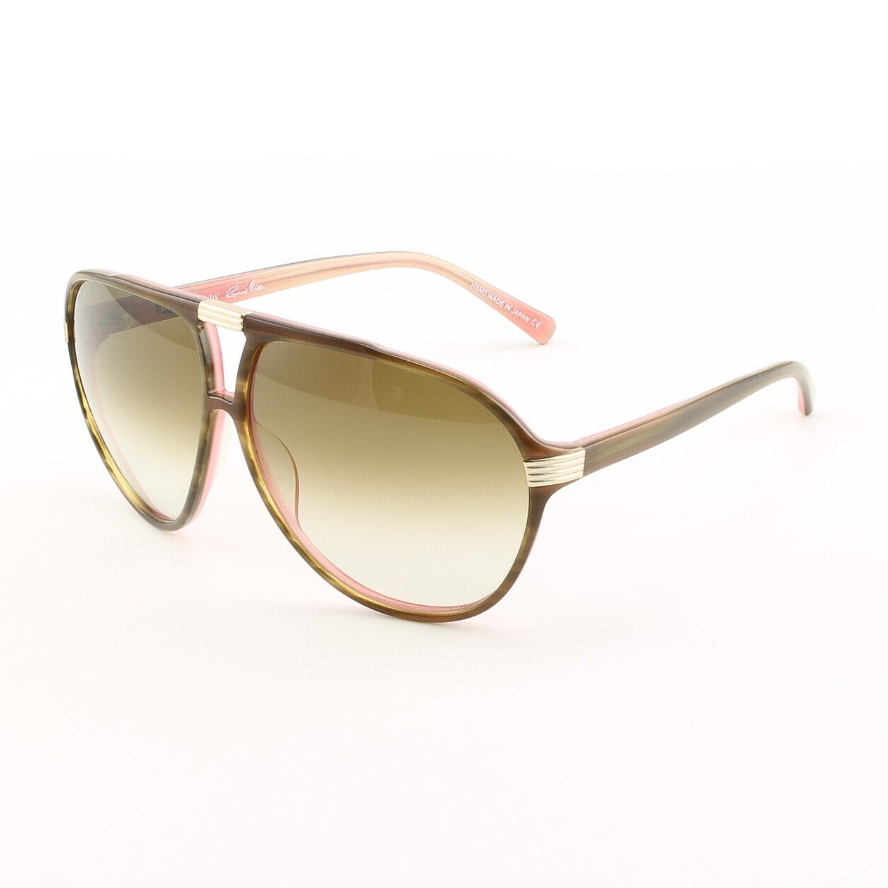 Blinde The Shakedown Unisex Aviator Sunglasses Col. Tortoise Flamingo with Brown Gradient Lenses