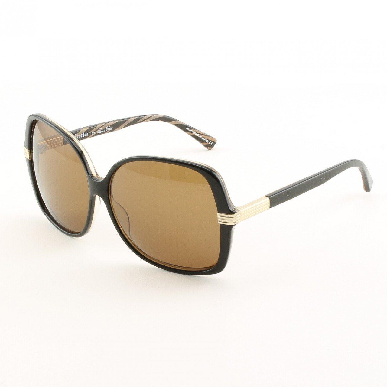 Blinde Swing Set Women's Sunglasses Col. Brown Zebra with Brown Lenses