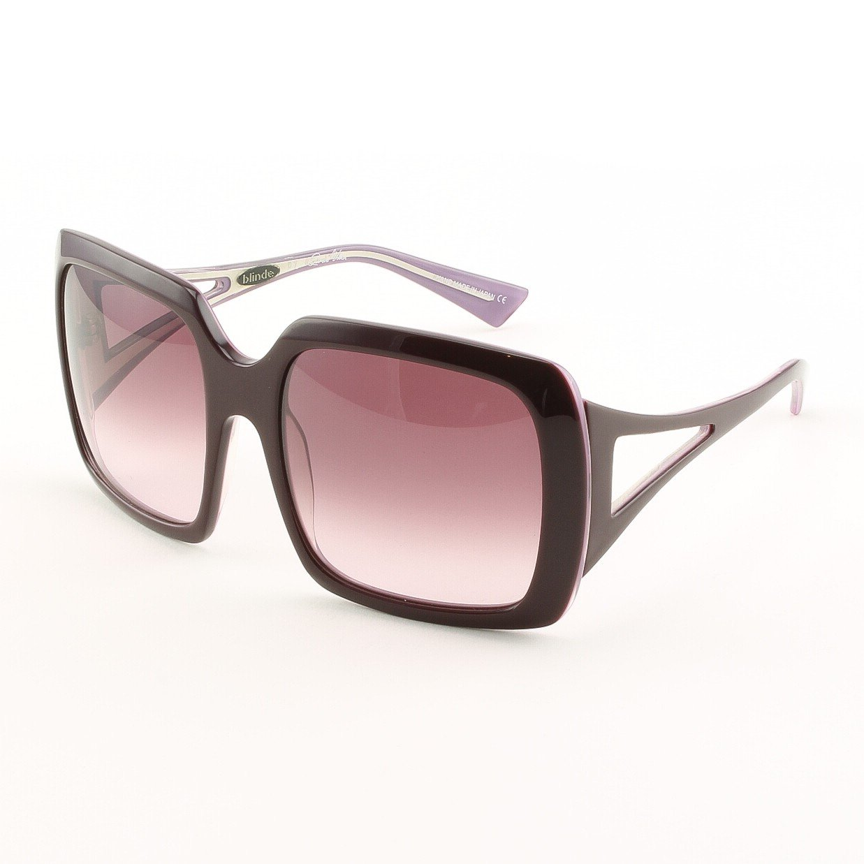 Blinde Surreal Deal Women's Sunglasses Col. Violets with Pink Gradient Lenses