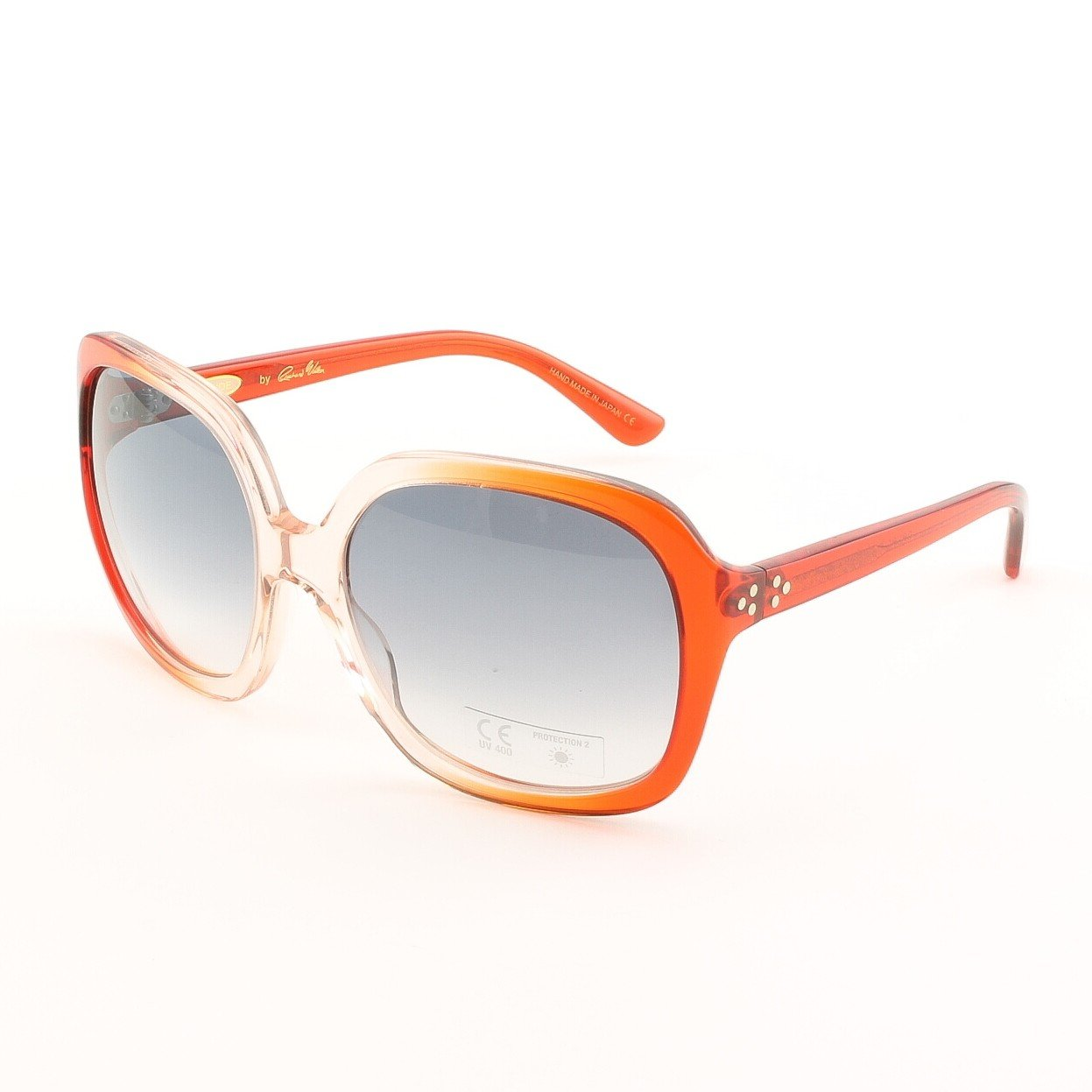 Blinde Never Had It So Good Women's Sunglasses Col. Orange Crystal with Grey Lenses