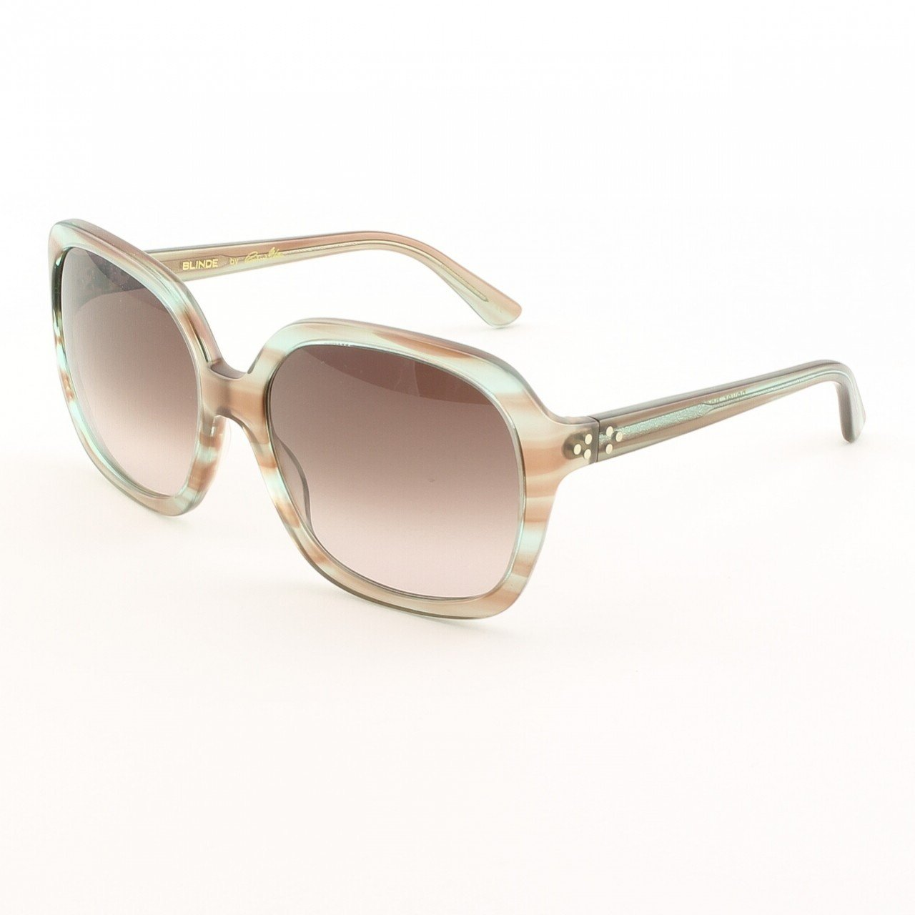 Blinde Never Had It So Good Women's Sunglasses Col. Blue Crystal Tortoise with Pink Gradient Lenses