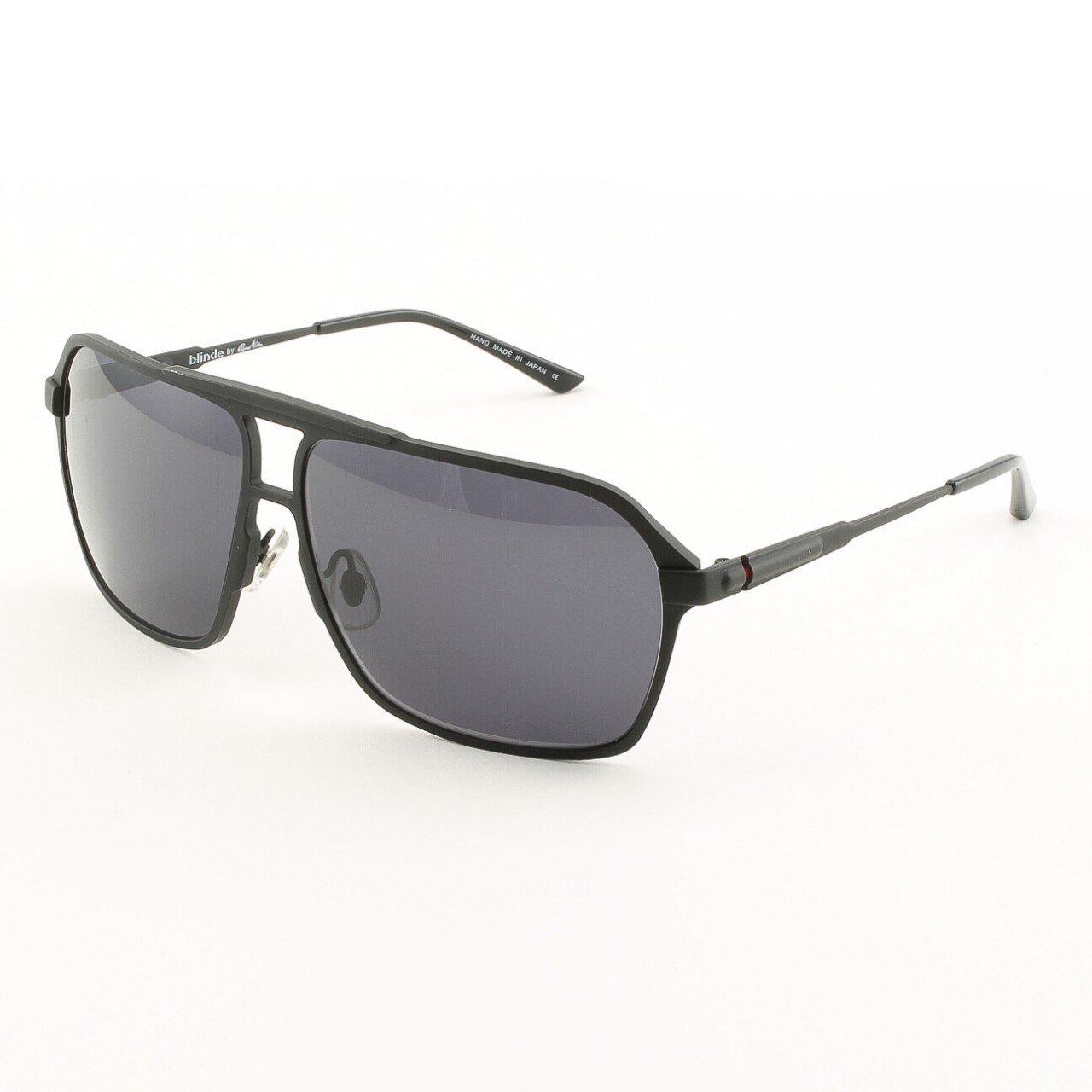 Blinde Most Unhonorable Unisex Sunglasses Col. Matte Black with Black Lenses