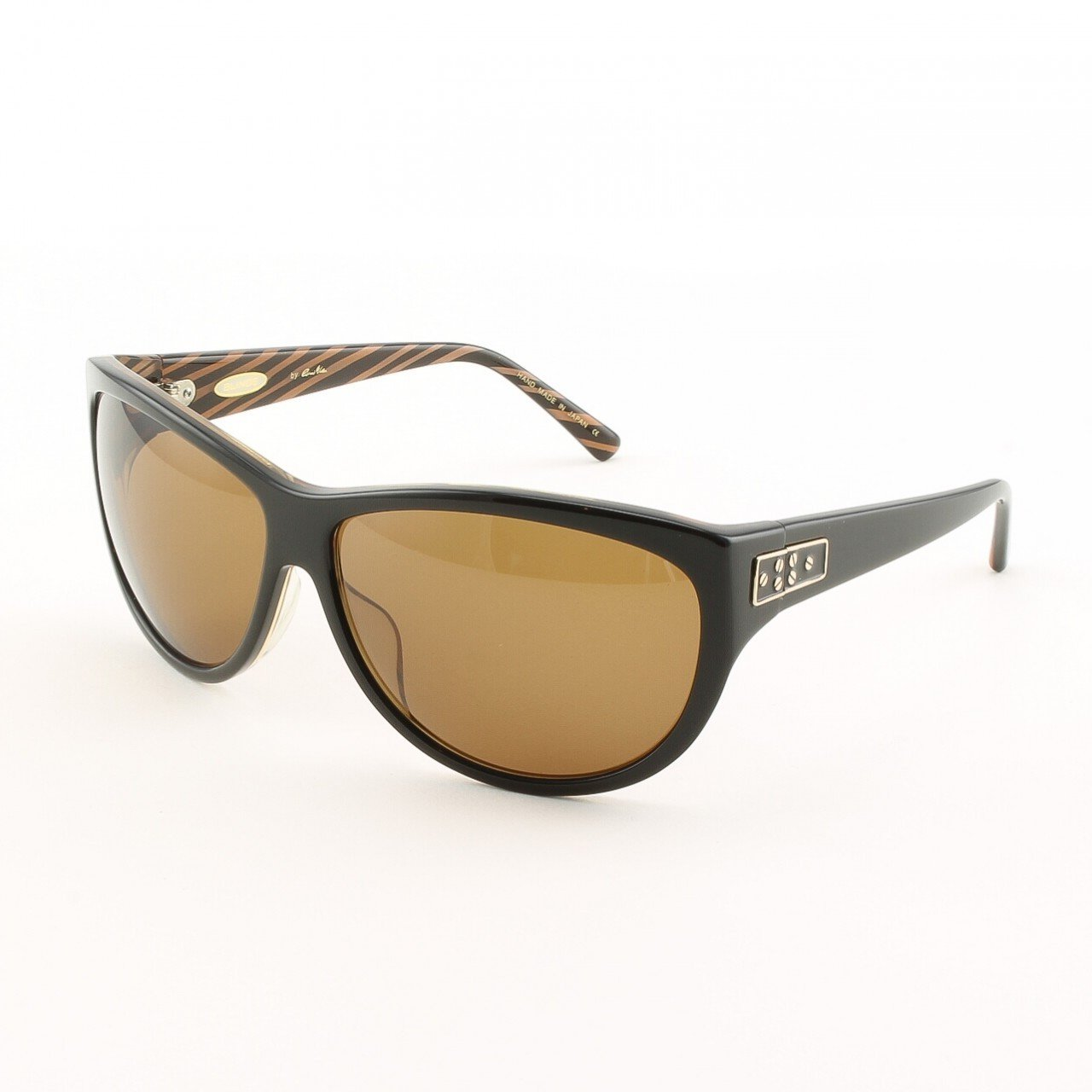 Blinde Lips Like Sugar Women's Sunglasses Col. Brown Zebra with Brown Gradient Lenses