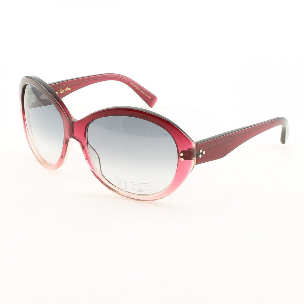 Blinde Lets Go All The Way Women's Sunglasses Col. Red Cranberry Fade with Purple Gradient Lenses