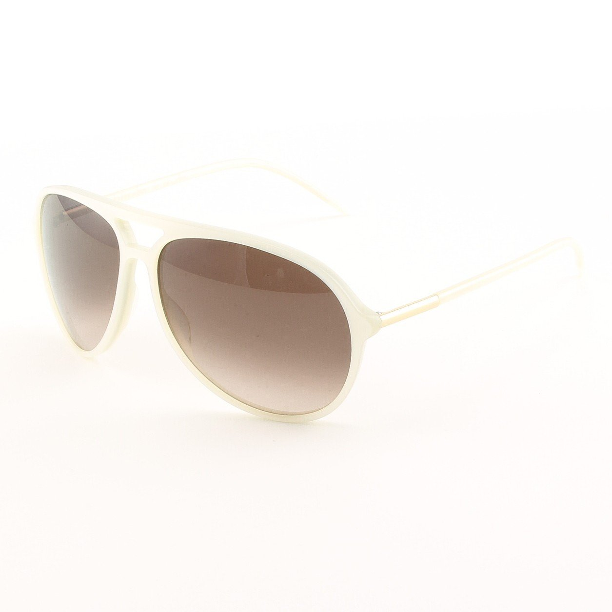 Blinde Joy Rides Men's Sunglasses Col. White Pearl with Brown Gradient Lenses