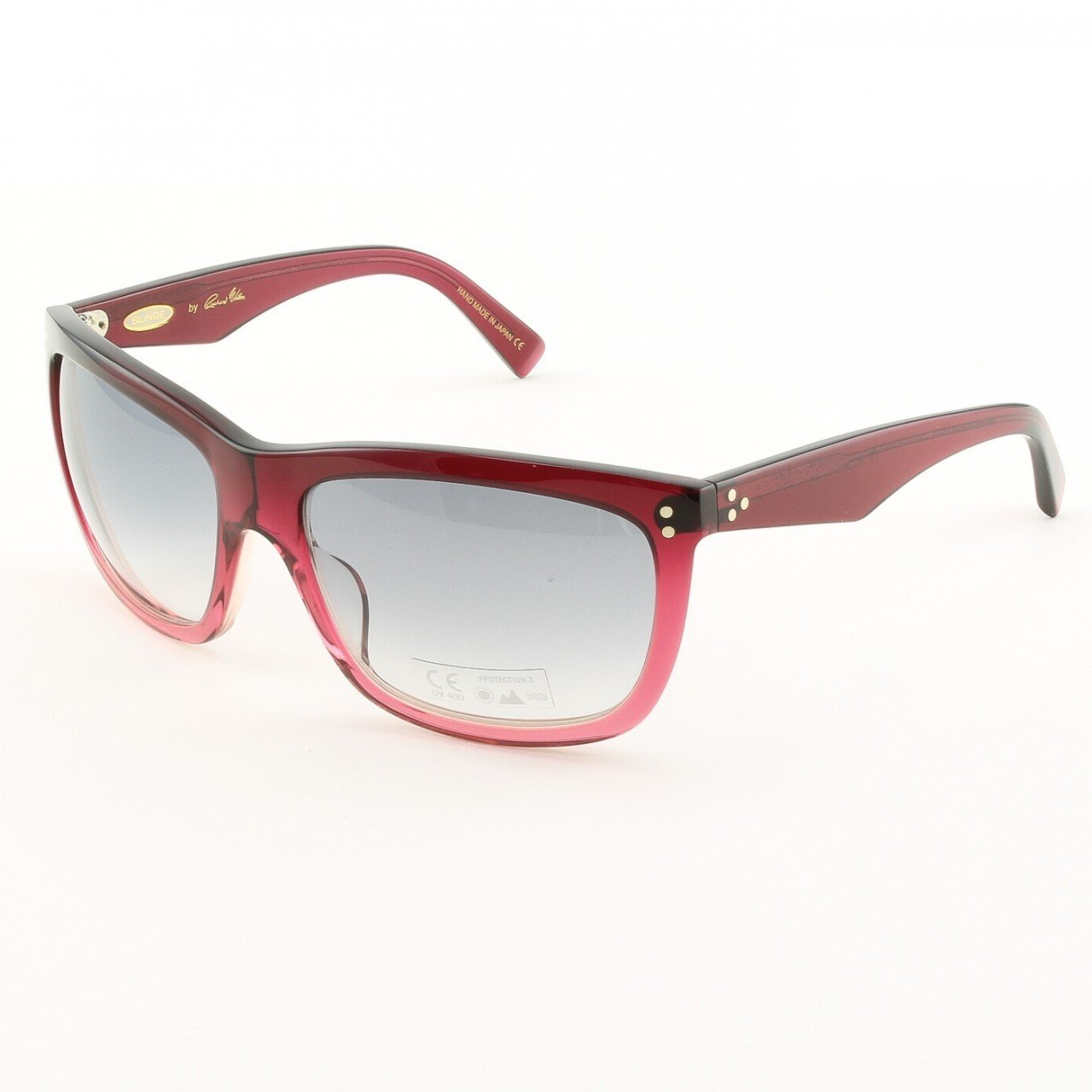 Blinde I'll Make It Up 2 U Unisex Sunglasses Col. Red Cranberry Fade with Purple Gradient Lenses