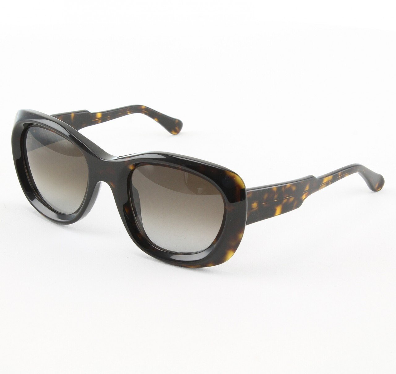 Marni MA178S Sunglasses Col. 01 Dark Tortoise with Brown Gradient Lenses
