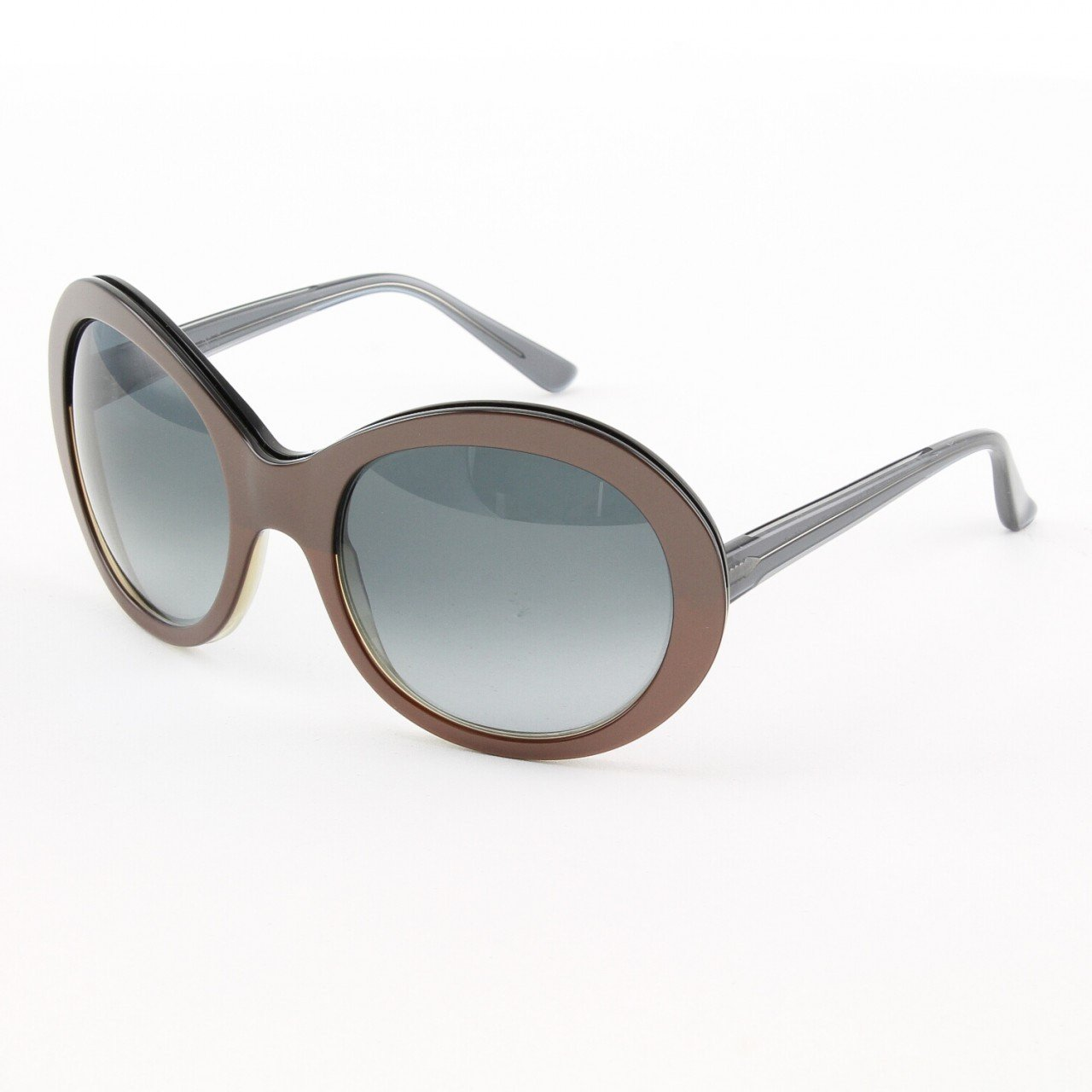 Marni MA162S Sunglasses Col. 07 Oversized Copper Frame with Gray Gradient Lenses