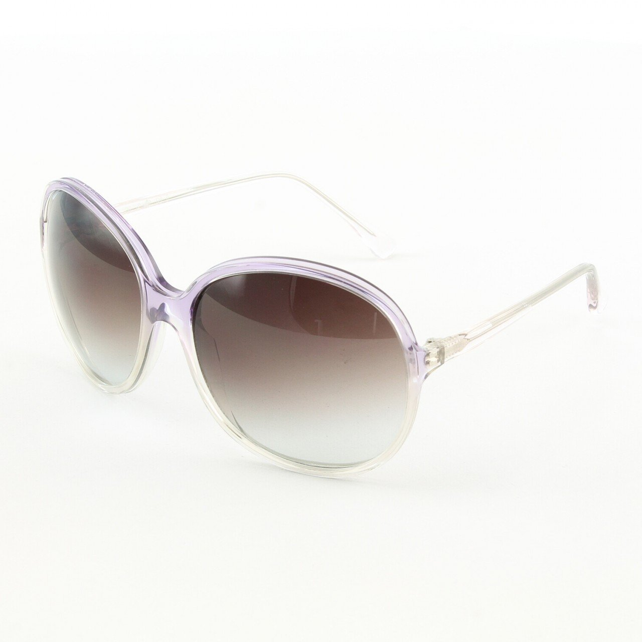 Marni MA165S Sunglasses Col. 09 Oversized Lavender Frame with Gray Gradient Lenses