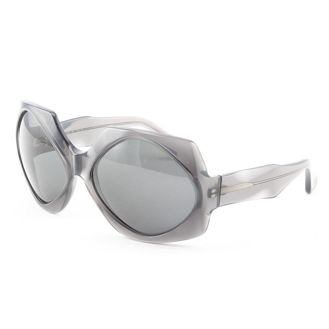 Marni MA187S Sunglasses Col. 02 Translucent Graphite Gray with Gray Lenses