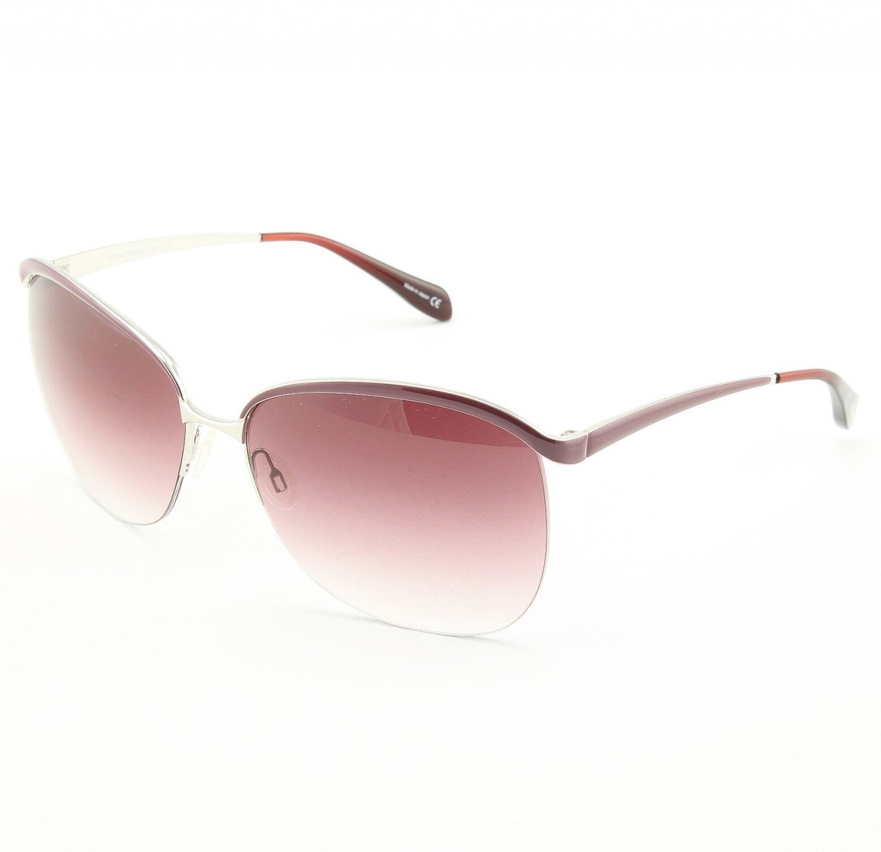 Oliver Peoples Lamour 1092S 5027/8H Sunglasses Col. Burgundy with Burgundy Gradient Lenses