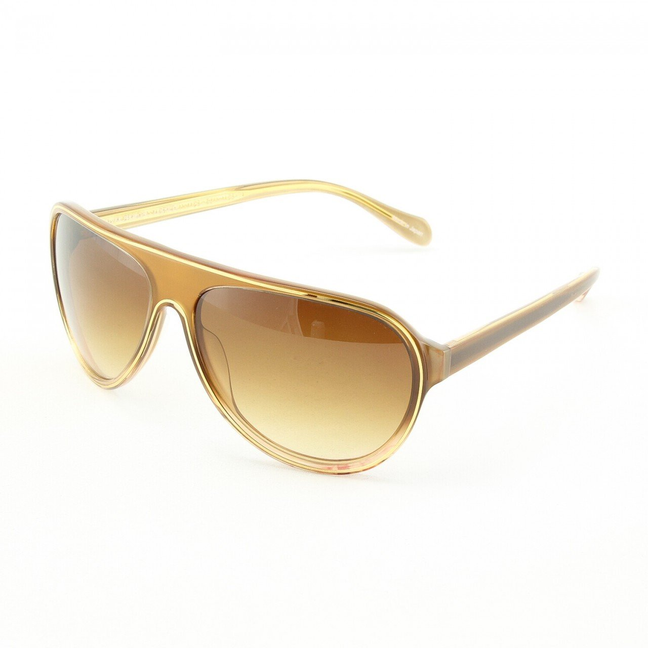 Oliver Peoples Gadson 5092S Sunglasses Col. TZGR Amber Bronze with Brown Gradient Lenses