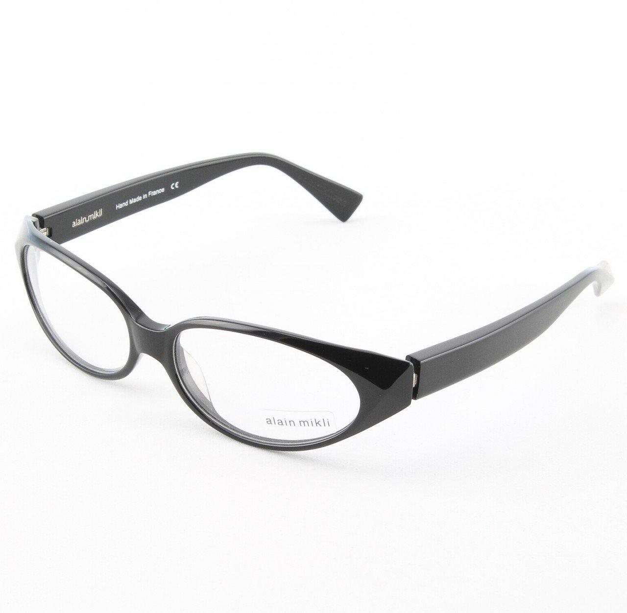Alain Mikli Eyeglasses AL0761 Col. 16 Black Frame`