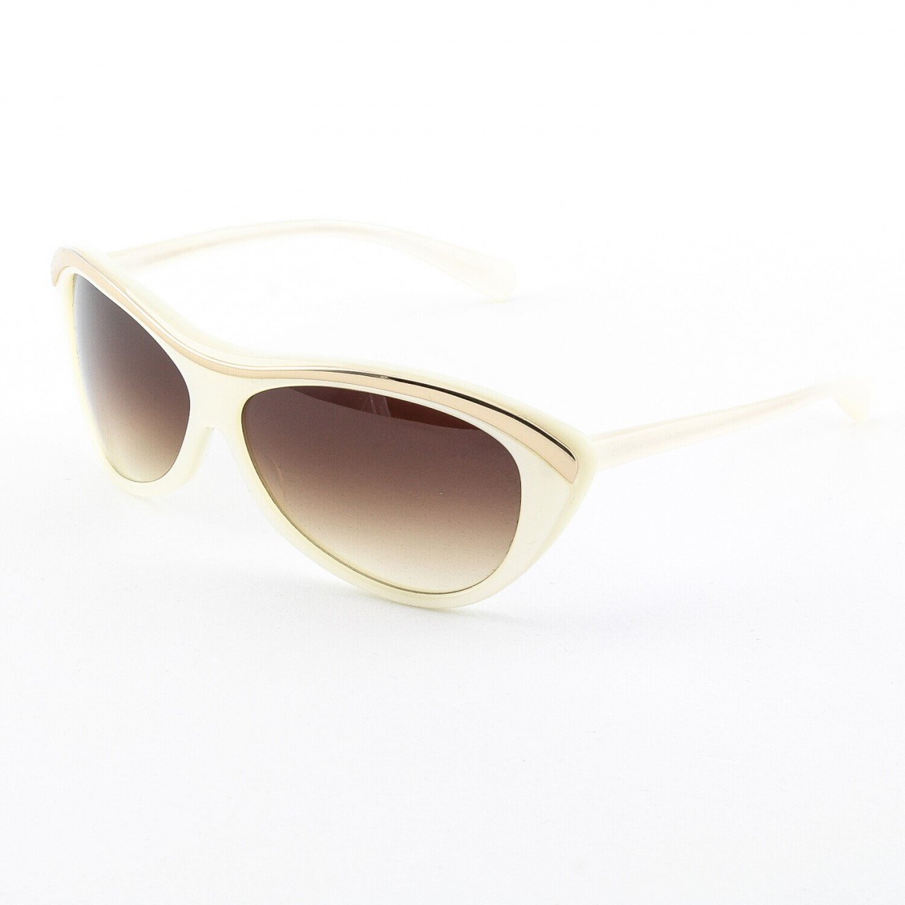 Paul Smith PS-378 ISSB Sunglasses Color Ivory Gold with Brown Gradient Lenses 61mm