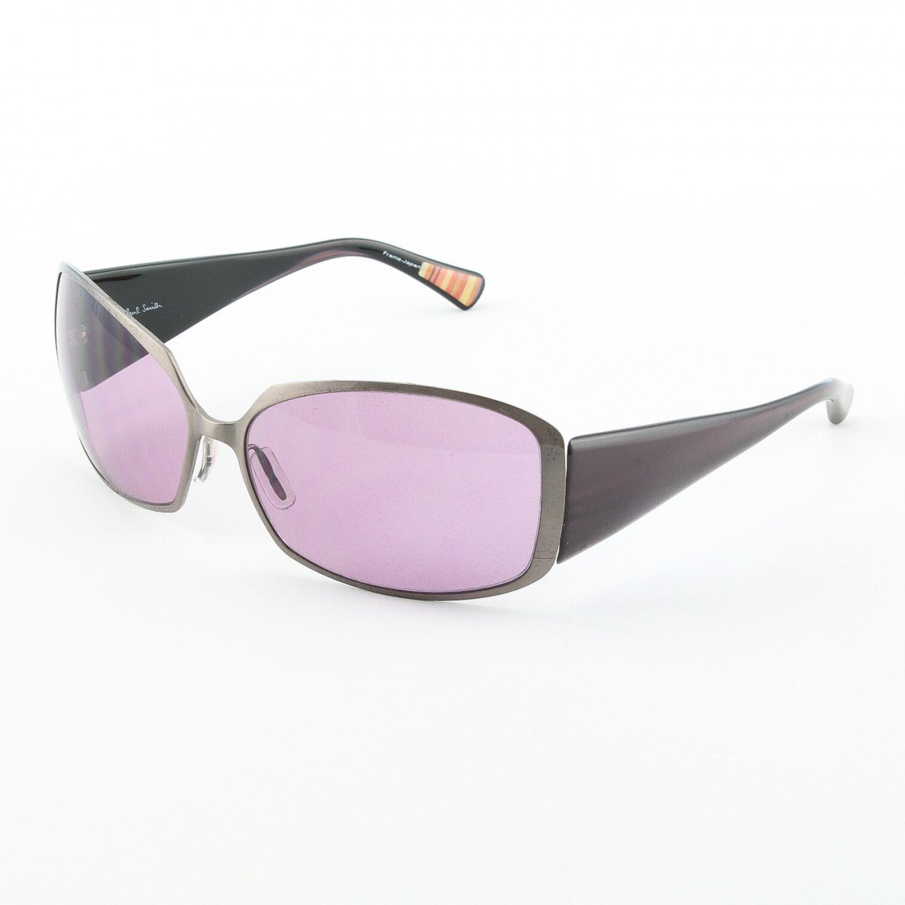 Paul Smith PS-810 MD Sunglasses Color Bronze Purple with Purple Lenses 62mm