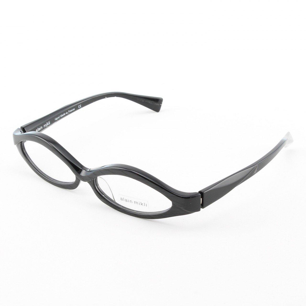 Alain Mikli Eyeglasses AL1018 Col. 5 Etched Black